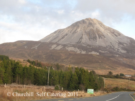 Mt. Errigal, Donegal's highest mountain