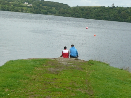A quiet moment on the banks of Lough Gartan