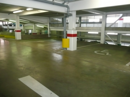 Secured Car Parking
